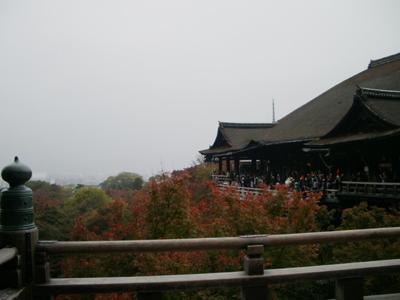 清水の舞台:清水寺