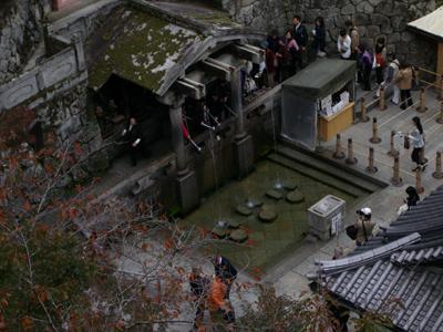 音羽の滝:清水寺